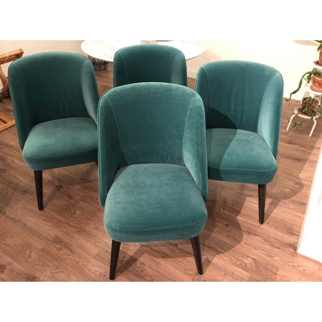 Room and Board Custom Dining Chairs - Set of 4 For Sale - Image 13 of 13