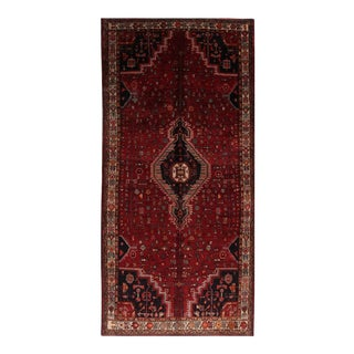 Vintage Mid-Century Persian Rug - 5′2″ × 10′11″ For Sale