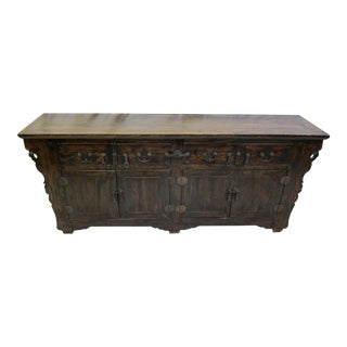 19th Century Chinese Sideboard For Sale
