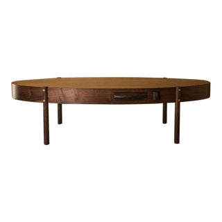 Phillips Oval Coffee Table by Wyatt Speight Rhue For Sale