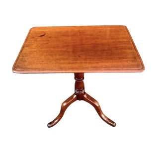 19th Century Federal Tilt Top Accent Table For Sale