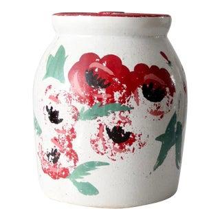 Vintage Stoneware Cookie Jar For Sale