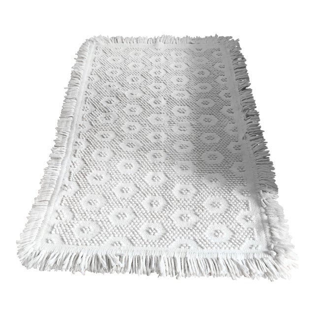 "White Wool Rug - 4'5"" x 7'1"" - Image 1 of 10"