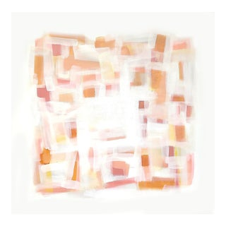 'A Cubist Sunset' Original Abstract Painting by Linnea Heide For Sale