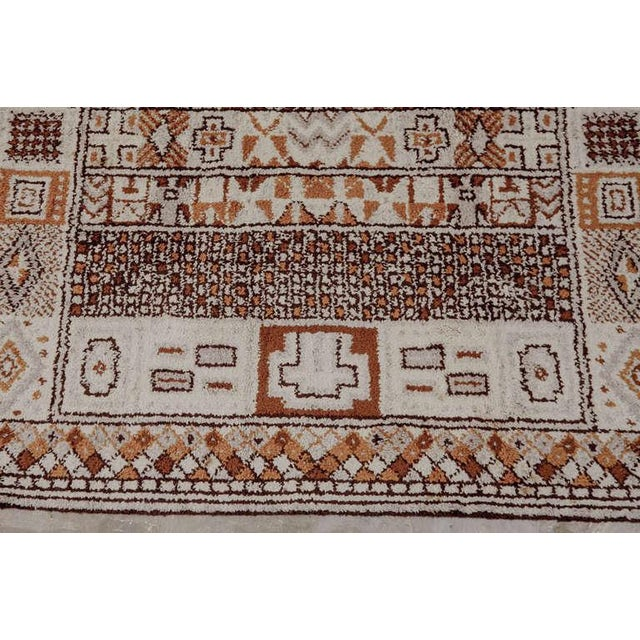 Mid-Century Modern 1950s Moroccan Style Portuguese Rug- 8′ × 10′ For Sale - Image 3 of 10