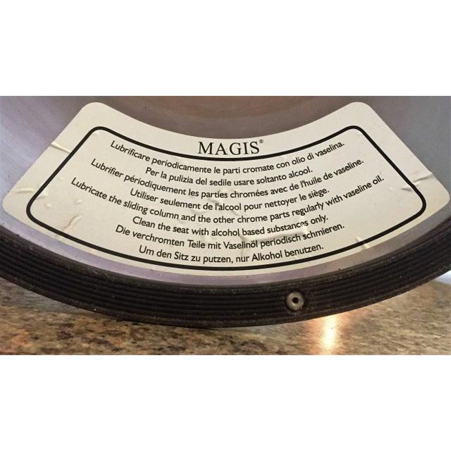 """Magis Chrome Adjustable """"Bombo"""" Stools - Set of 4 - Image 11 of 11"""