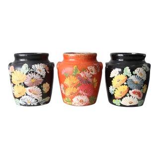 Vintage Ransburg Cookie Jars - Set of 3 For Sale