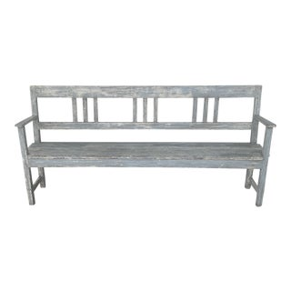 Vintage School House Bench For Sale