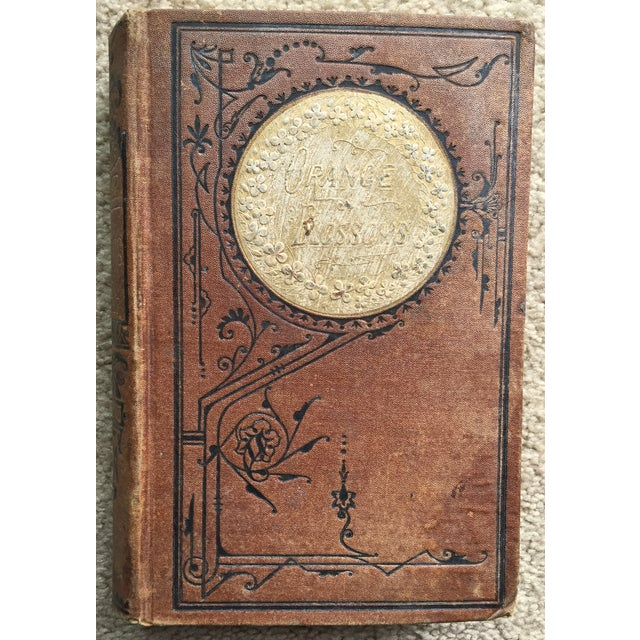 """Orange Blossoms"" Antique Gilt Book - Image 2 of 8"