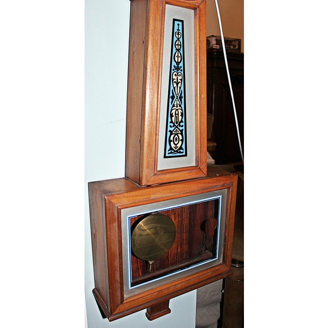 New Haven Clock Company New Haven Banjo Wall Clock For Sale - Image 4 of 8