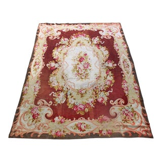 French 19th Century Napoleon III Aubusson Rug For Sale