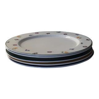 Villeroy & Boch White Premium Porcelain Dinner Plates - Set of 5