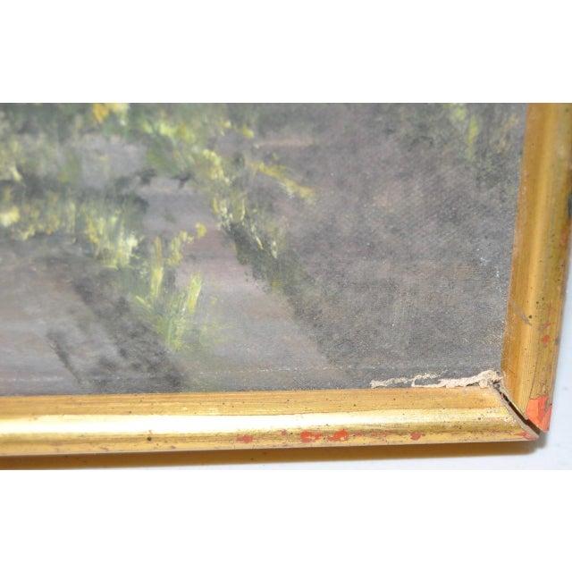 Hutchinson Co. Quarry Original Oil Painting c.1960 - Image 8 of 9