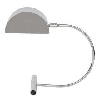 Koch & Lowy Chrome Desk Lamp