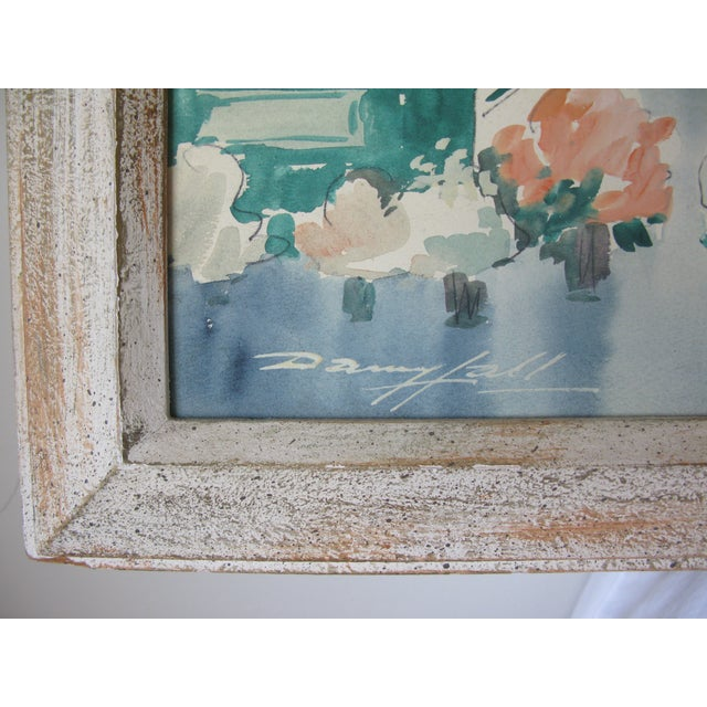 Danny Hall Mid-Century San Francisco Watercolor Painting - Image 4 of 5