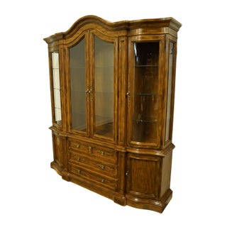 Drexel Heritage Grand Villa Collection Italian Provincial China Cabinet Preview