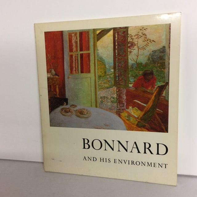 Offered is a hardcover book (1964) titled Bonnard and His Environment that was featured in the MoMA. James Thrall Soby,...
