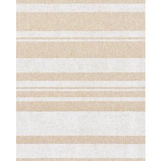 Sample - Schumacher Horizon Paperweave Wallpaper in Natural For Sale