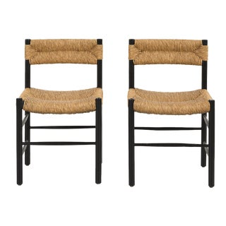 Set of Chairs by Charlotte Perriand for Robert Sentou