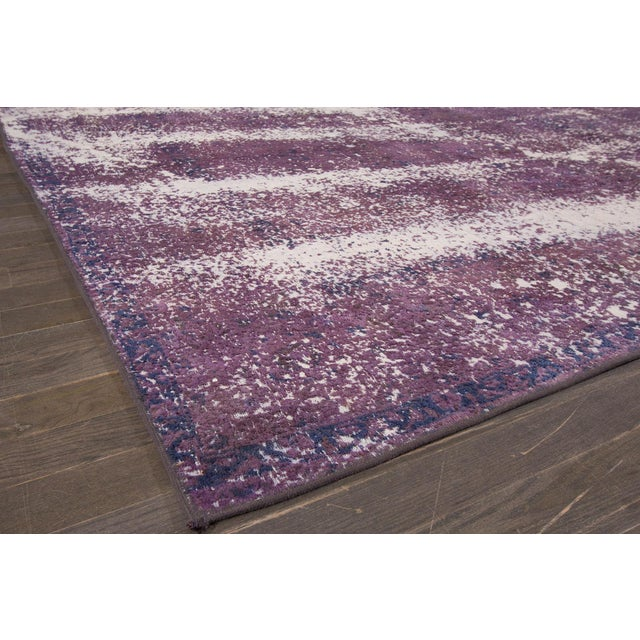 1960s Vintage Overdyed Rug For Sale - Image 5 of 7