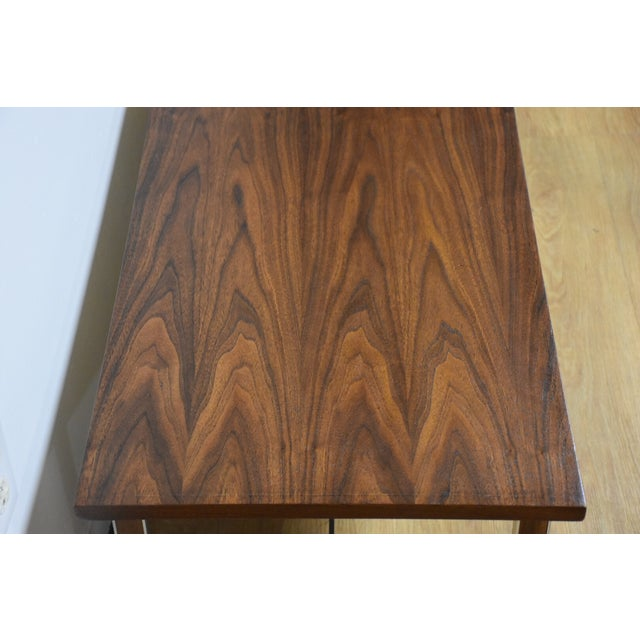 Paul McCobb for Calvin Walnut Coffee Table For Sale - Image 5 of 8