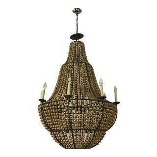Currey and Company Falconwood Chandelier For Sale