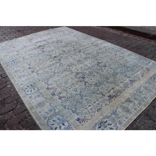 1930s Vintage Sivas Wool Rug - 6′ × 9′ For Sale - Image 5 of 9
