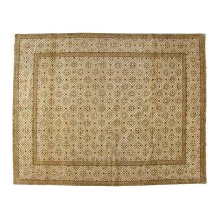 "Khotan Wool Carpet - 8' x 10'1"" For Sale"