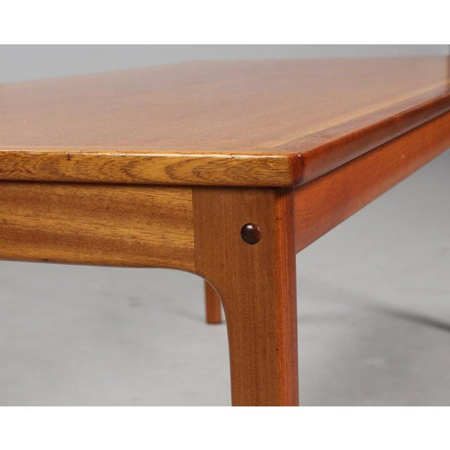 Wood 1960s Danish Modern Ole Wanscher for P. Jeppesen Mahogany Armchairs and Coffee Table - 3 Pieces For Sale - Image 7 of 8