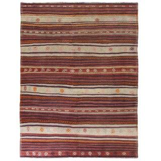 Vintage Turkish Kilim | 5'4 x 7'1 Flatweave