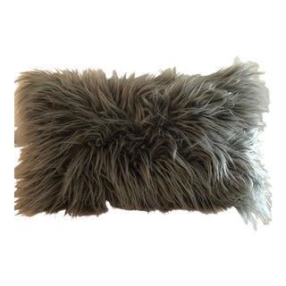 Anthropologie Faux Fur Decor Pillow For Sale