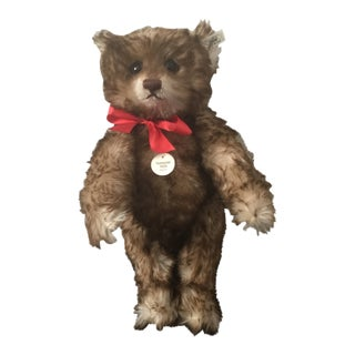 "Antique Steiff Teddy Bear - Replica, 1926 ""Happy Anniversary"" Teddy Bear For Sale"