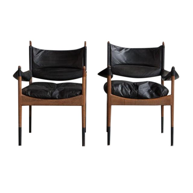 Christian Solmer Vedel Modus Armchairs - Set of 2 - Image 1 of 9