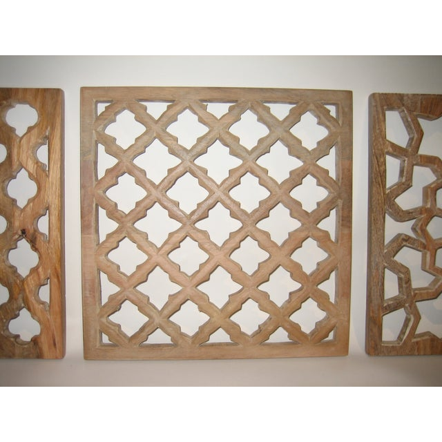 Decorative Wood Panels - Set of 3 - Image 4 of 11