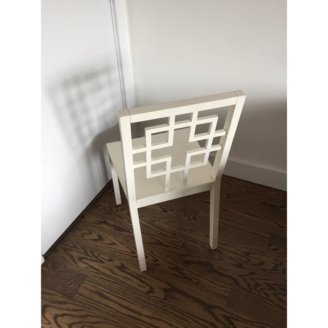 West Elm Overlapping Square Side Chairs - 4 - Image 4 of 6