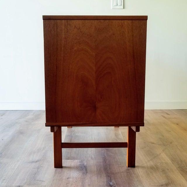 Mid-Century Modern Vintage Folke Ohlsson for Dux Style Teak Credenza For Sale - Image 3 of 13