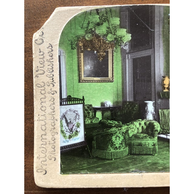 Victorian Circa 1880 Summer Fireplace Screen With Floral Painting and Velvet Screen For Sale - Image 12 of 13