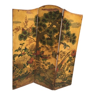 Antique Asian Screen