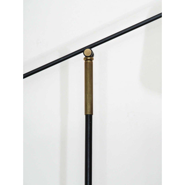 1950s Articulated French Floor Lamp For Sale - Image 4 of 7