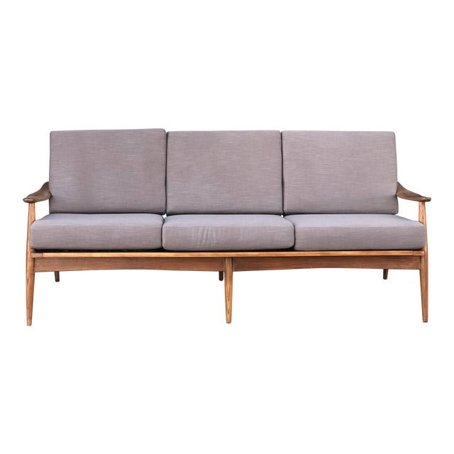 Mid Century 3 Seater Sofa For Sale