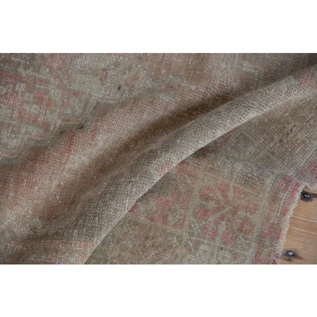 """Distressed Oushak Rug - 3'7"""" X 6'3"""" For Sale - Image 9 of 11"""