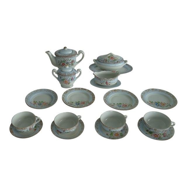 Antique Porcelain Child's Tea Set - 21 Pieces - Image 1 of 6