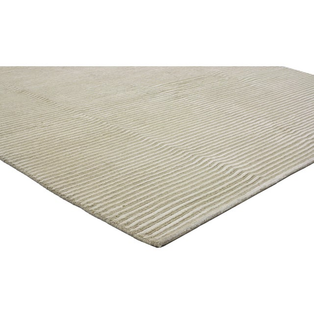 Creamy Beige Transitional Area Rug - 5'9 x 7'8 - Image 2 of 4