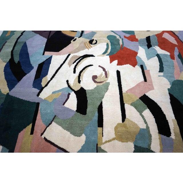 Art Deco Boccara Artistic Rug – Albert Gleizes – Design N.39 For Sale - Image 3 of 9