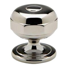 "Camden 1 1/4"" Knob in Nickel For Sale"