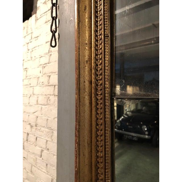Italian Trumeau Mirror For Sale - Image 3 of 11