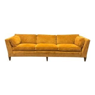 Mid Century Modern Velvet Century Sofa