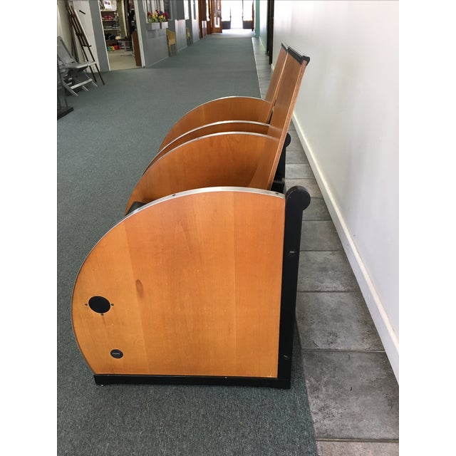 Theater-Style Art Deco Loungers - A Pair For Sale - Image 5 of 5