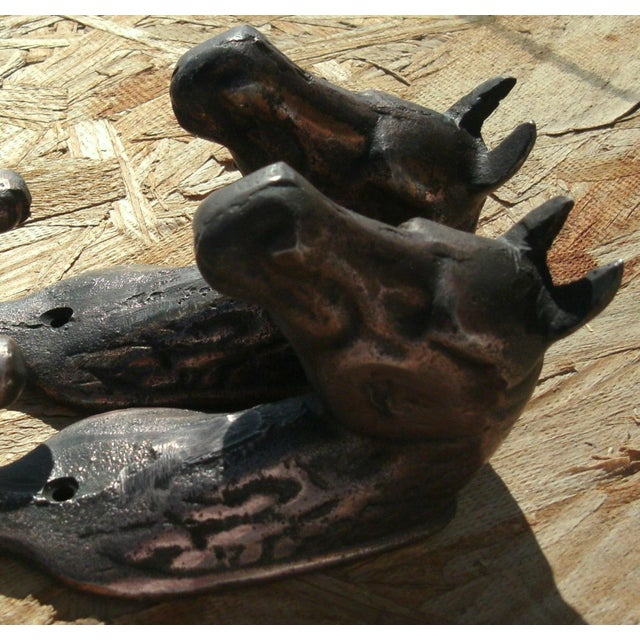 Vintage Metal Horse Head Wall Hooks - a Pair For Sale - Image 10 of 12
