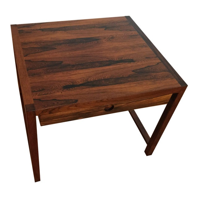 Brode Blindheim Rosewood End Table - Image 1 of 9